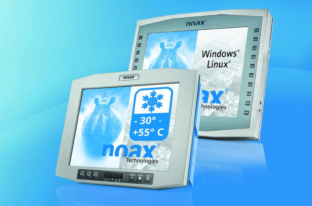 Industrie-PCs für den erweiterten Temperaturbereich (-30° bis +55°Celsius)