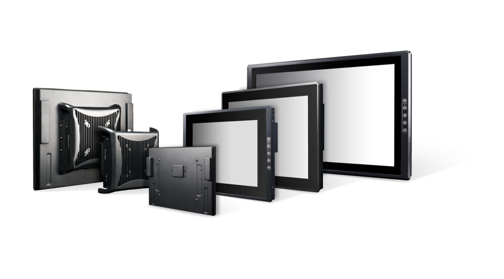 Flexibel konfigurierbare industrielle Display Systeme