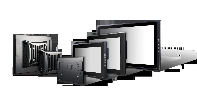 Flexibel konfigurierbare industrielle Display Systeme