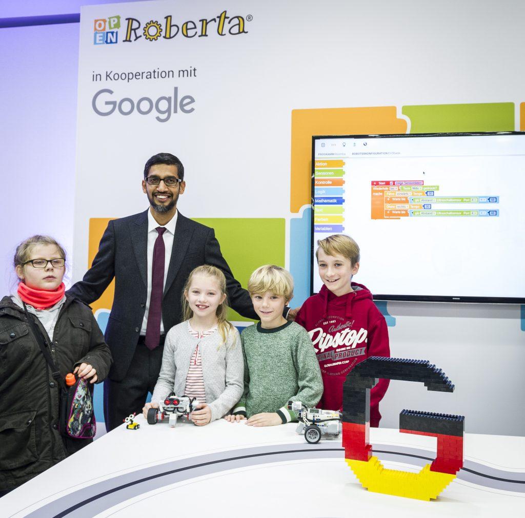 Fraunhofer-Projekt »Open Roberta« und Google bauen digitale Bildung deutschlandweit aus