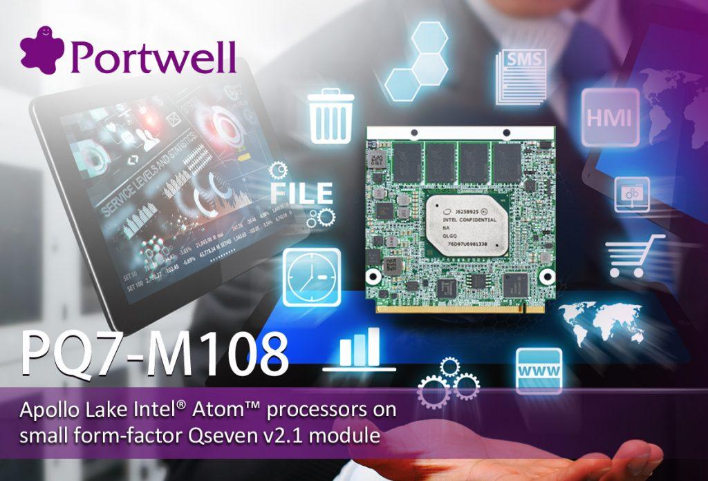 Qseven 2.1 Modul mit Intel Atom Prozessor