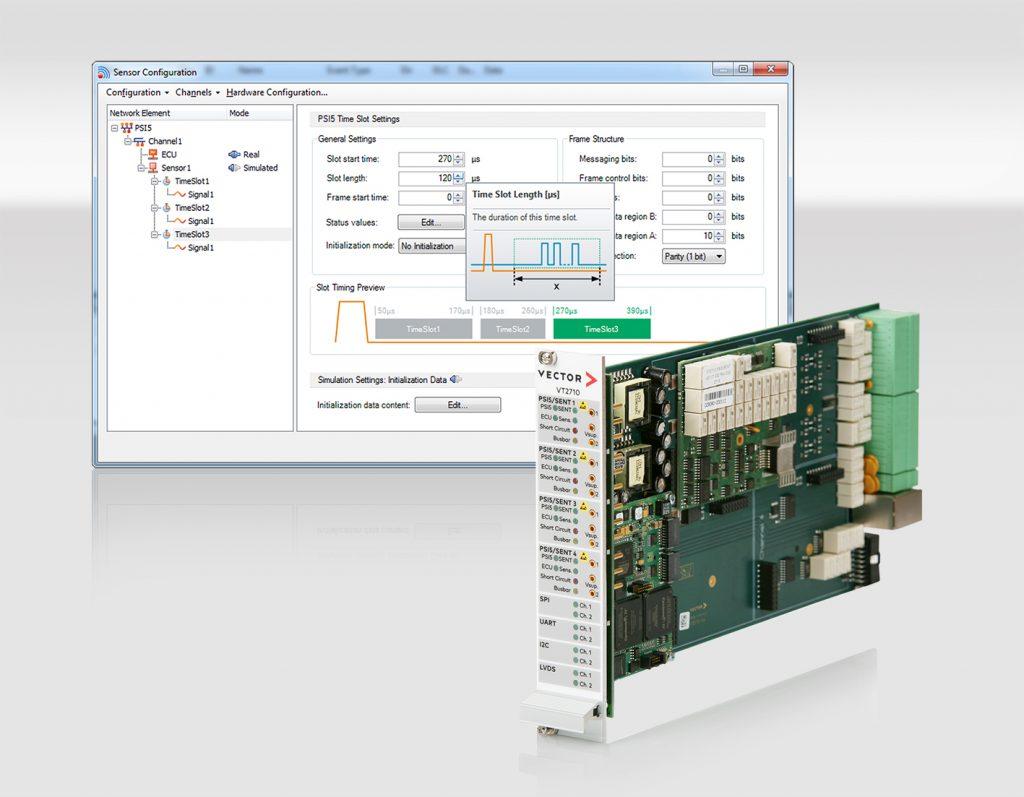 Vector erleichtert Analyse und Test der Sensorprotokolle PSI5 und SENT