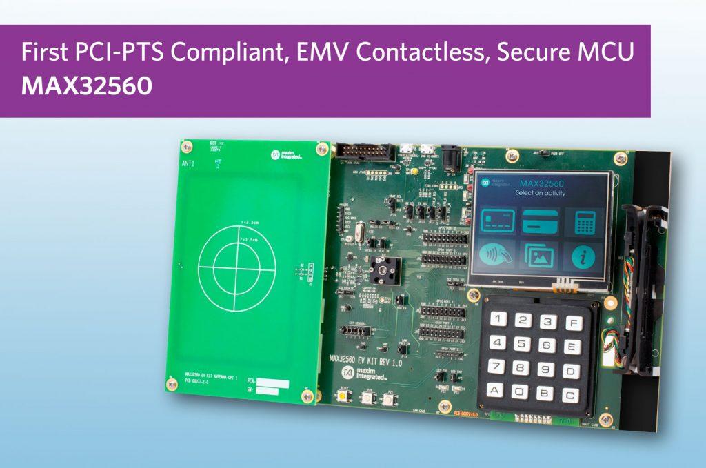 Deepcover-Mikrocontroller vereinfacht die Entwicklung kontaktloser EMV-Bezahlterminals