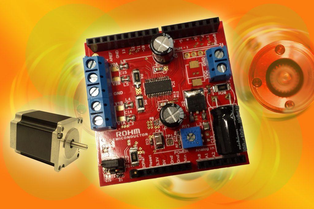 Arduino-Shield für ein schnelleres Design-In von Schrittmotor-Treibern