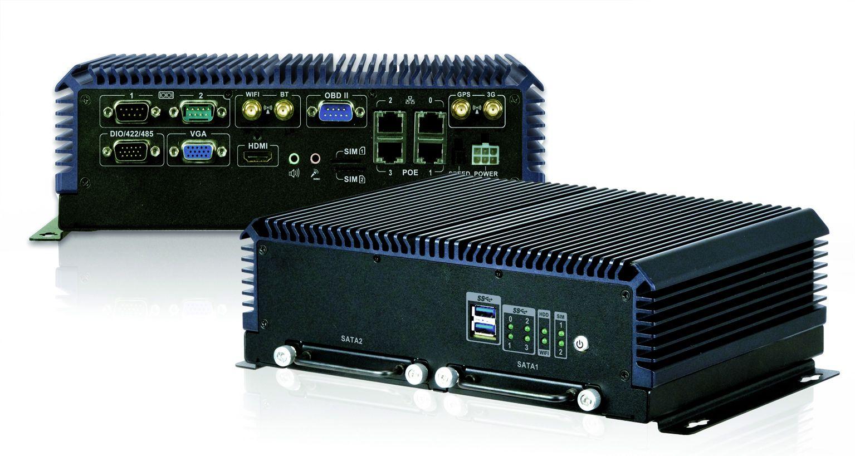 Embedded-PC mit PoE, für mobilen und stationären Betrieb