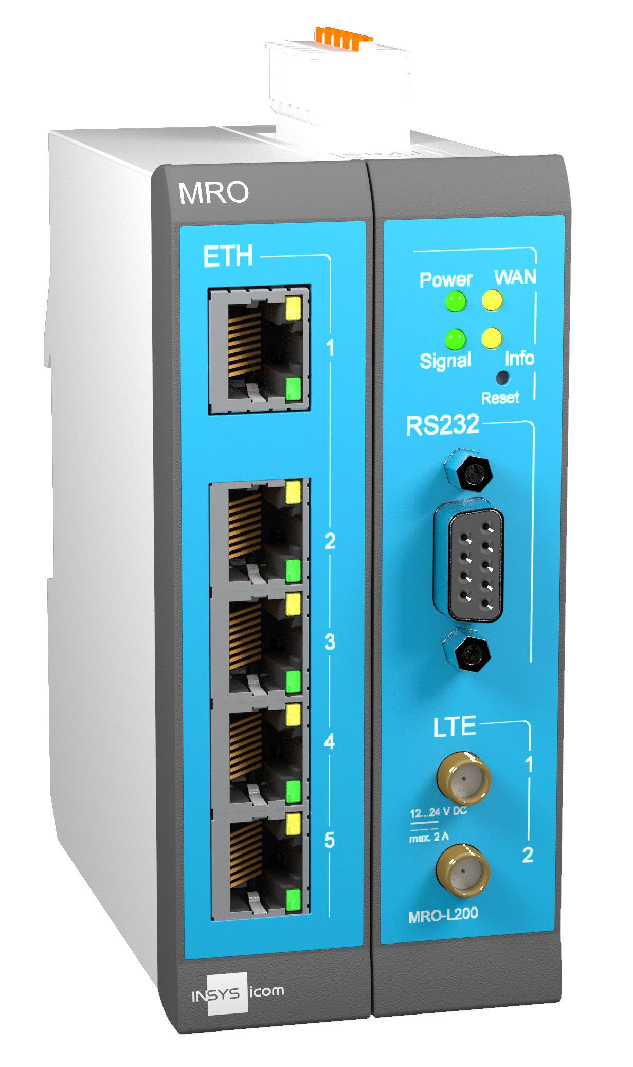 Routerserie für M2M-Anwendungen