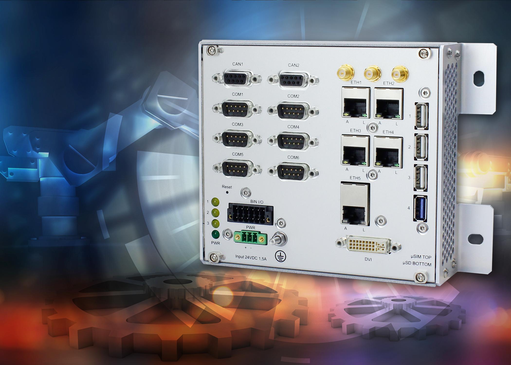 Box-PC für IoT in der Industrie-Automation