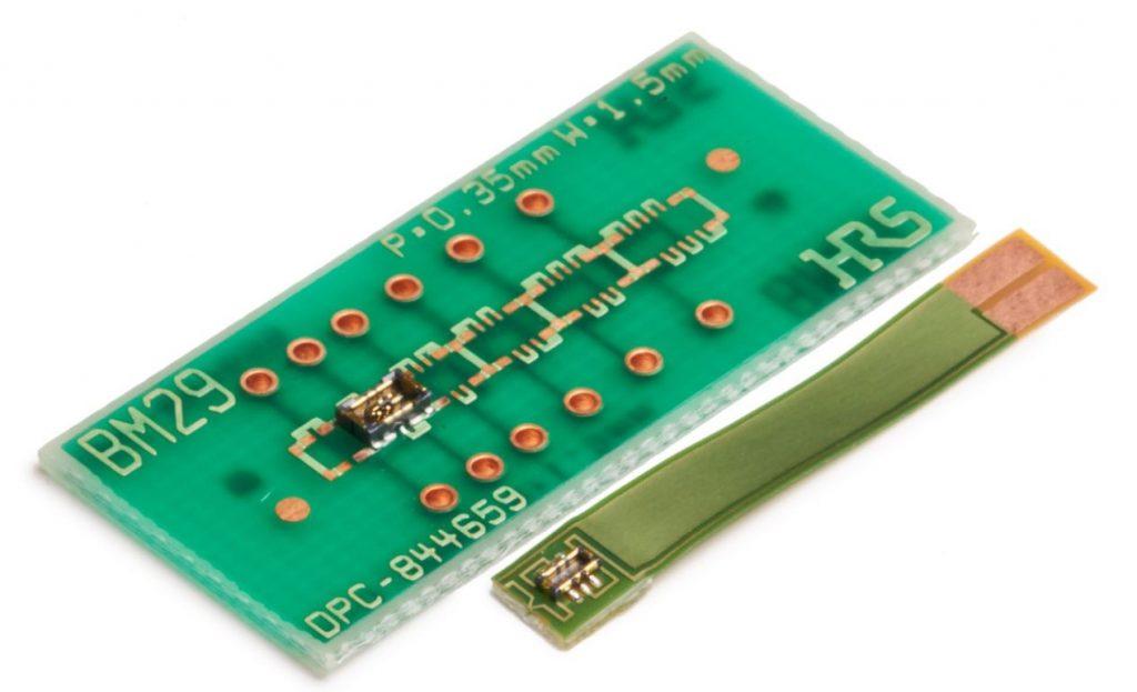 FPC-to-Board-Hybridsteckverbinder für Stromversorgungs- und Signalleitungen