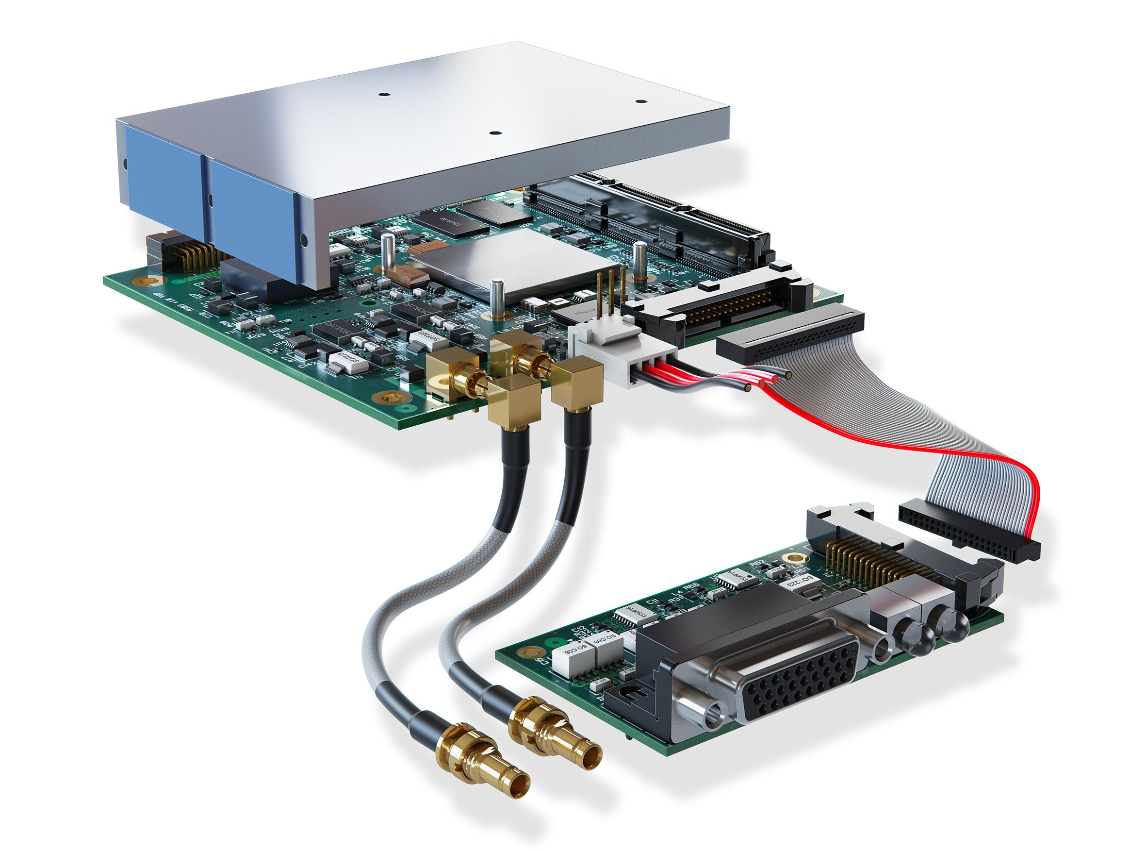 PCIe/104-kompatible CoaXPress-Vision-Lösung für industrielle Anwendungen