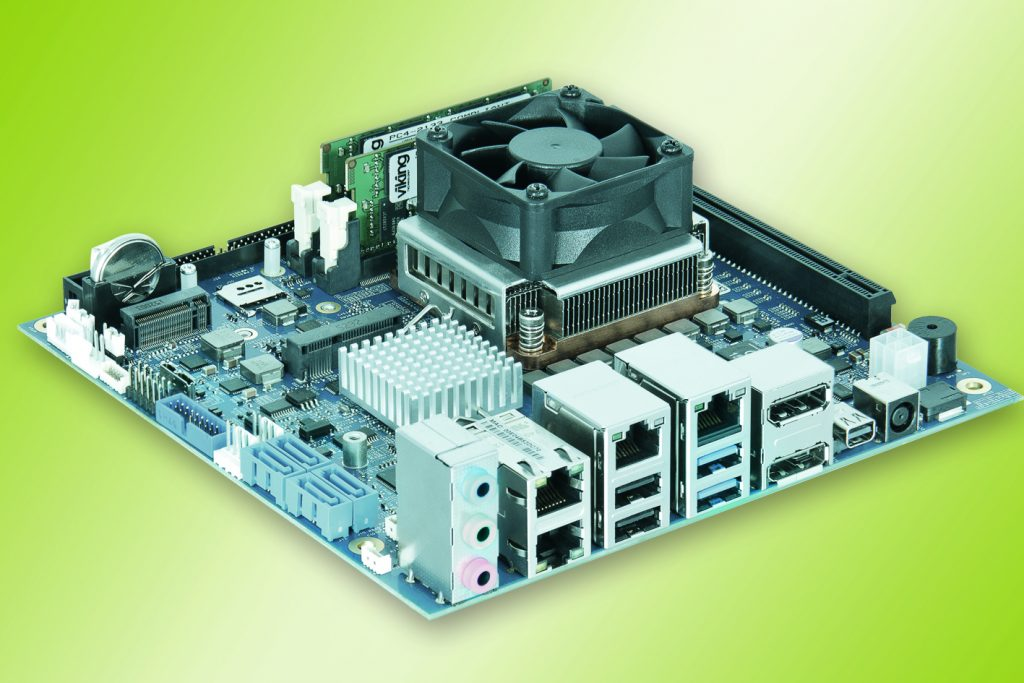 Kontron Embedded mITX Desktop Motherboard bei Hy-Line