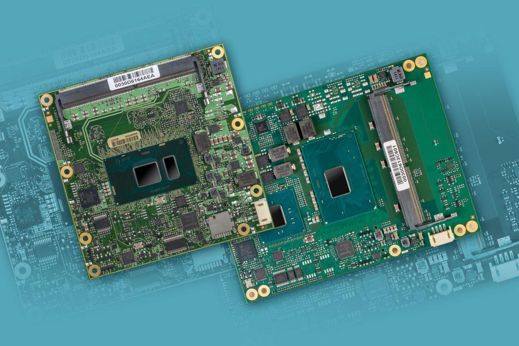 COM Express-Modulfamilien mit Intel Core-Prozessoren der 7. Generation