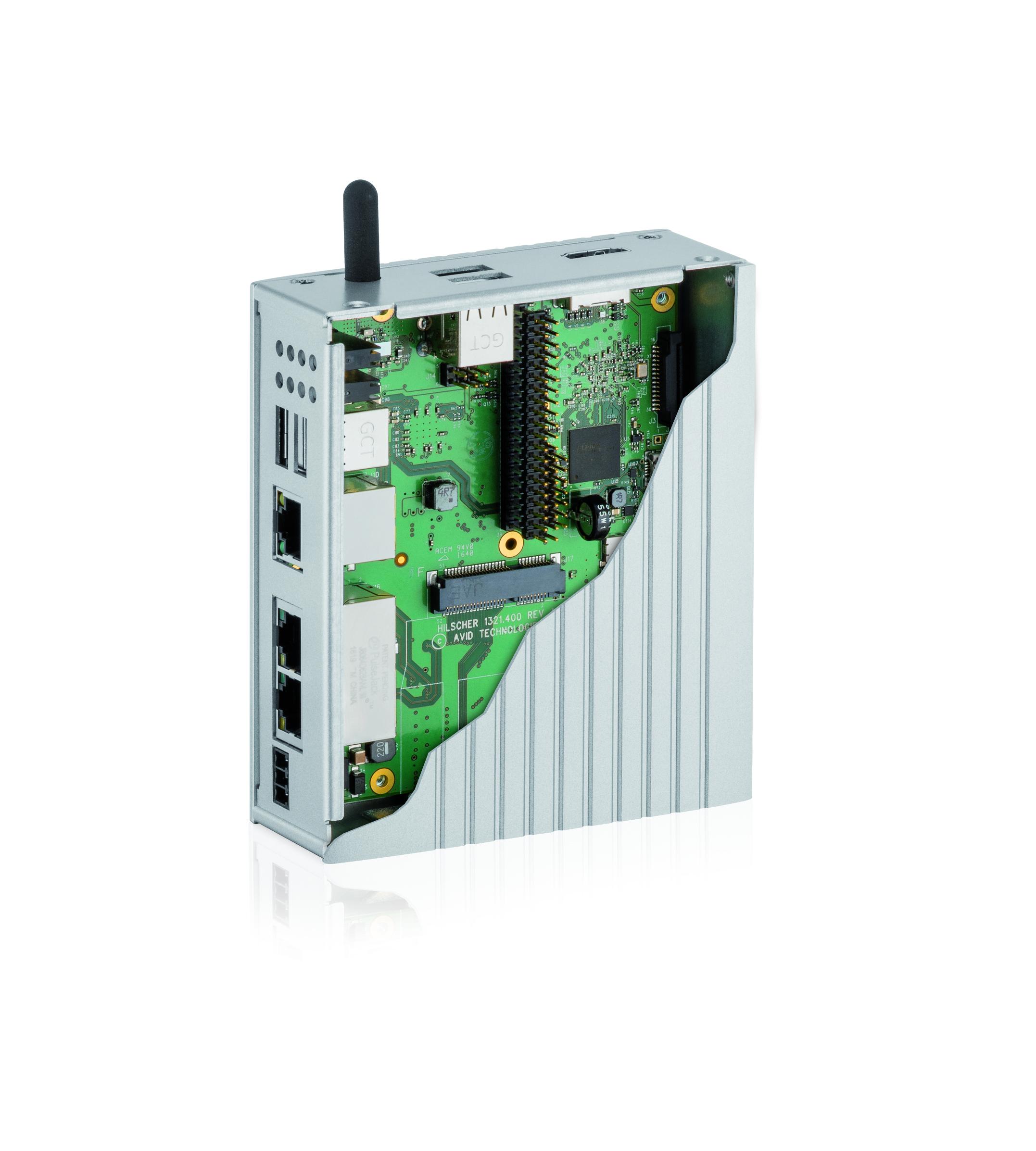 netPI: Raspberry-Pi 3 Custom-Design