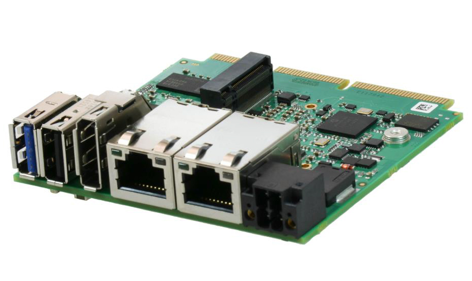 Single-Board-Computer mit Edge-Connect Architektur