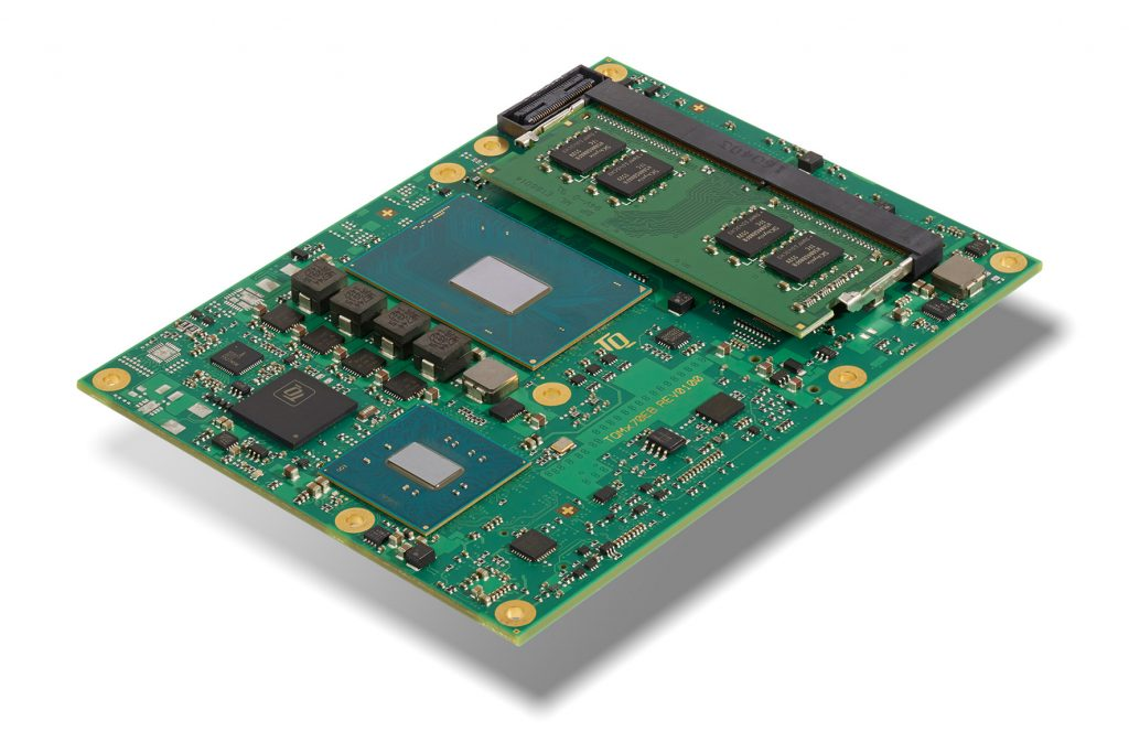 Leistungsstarkes Modul mit neuen Intel-Prozessoren der 7. Generation
