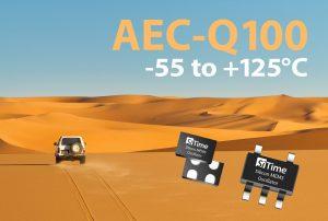 Robuste AEC-Q100 kompatible MEMS-Oszillatoren von SiTime