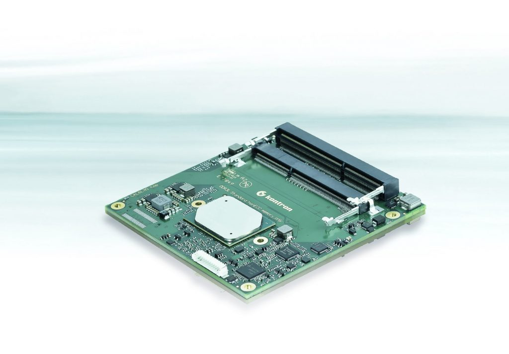 Kontron: neues COM-Express Compact Computer-on-Module COMe-cAL6 jetzt bei Aaronn