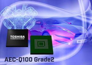 Toshiba erweitert Angebot an Embedded-NAND-Flash-Speicher für Automotive-Anwendungen