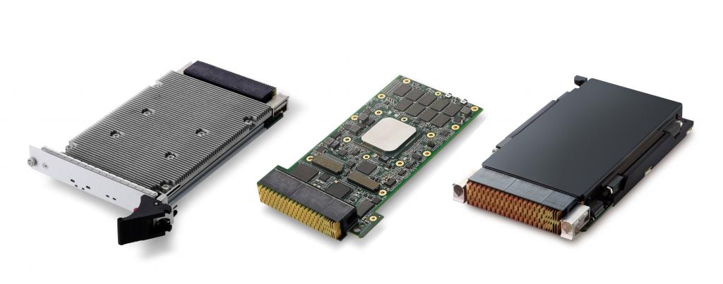 VPX-Prozessor-Blade bietet Server-Grade Rechenleistung und GPGPU-Beschleunigung für hohen Daten-Durchsatz