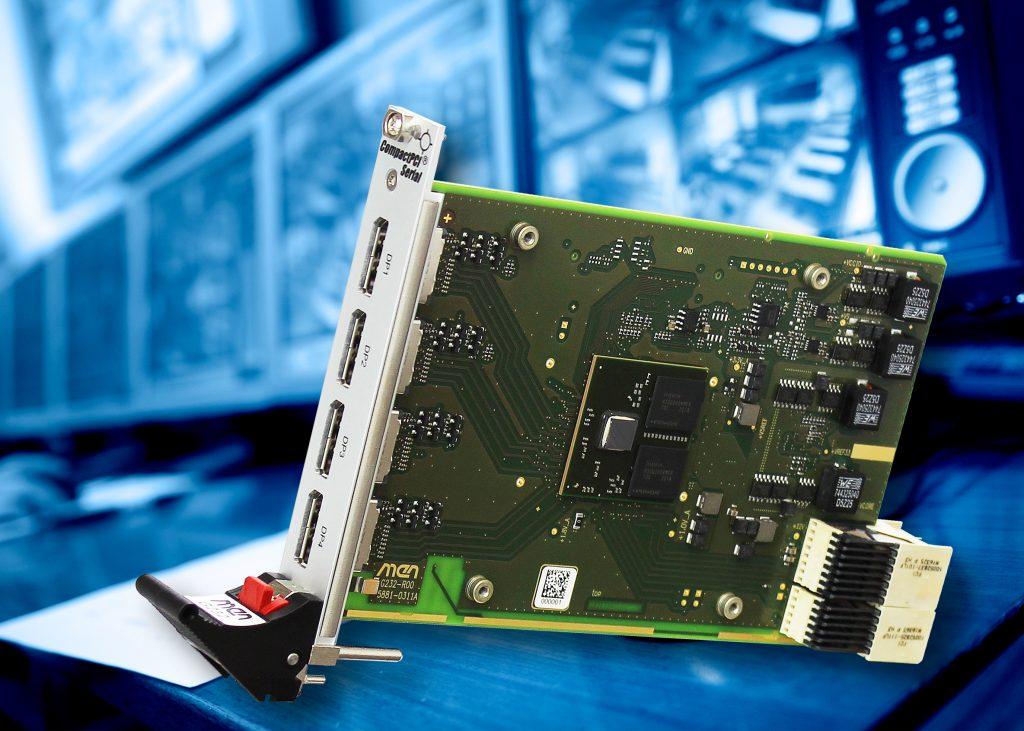 Außergewöhnliche Grafikleistung auf CompactPCI Serial