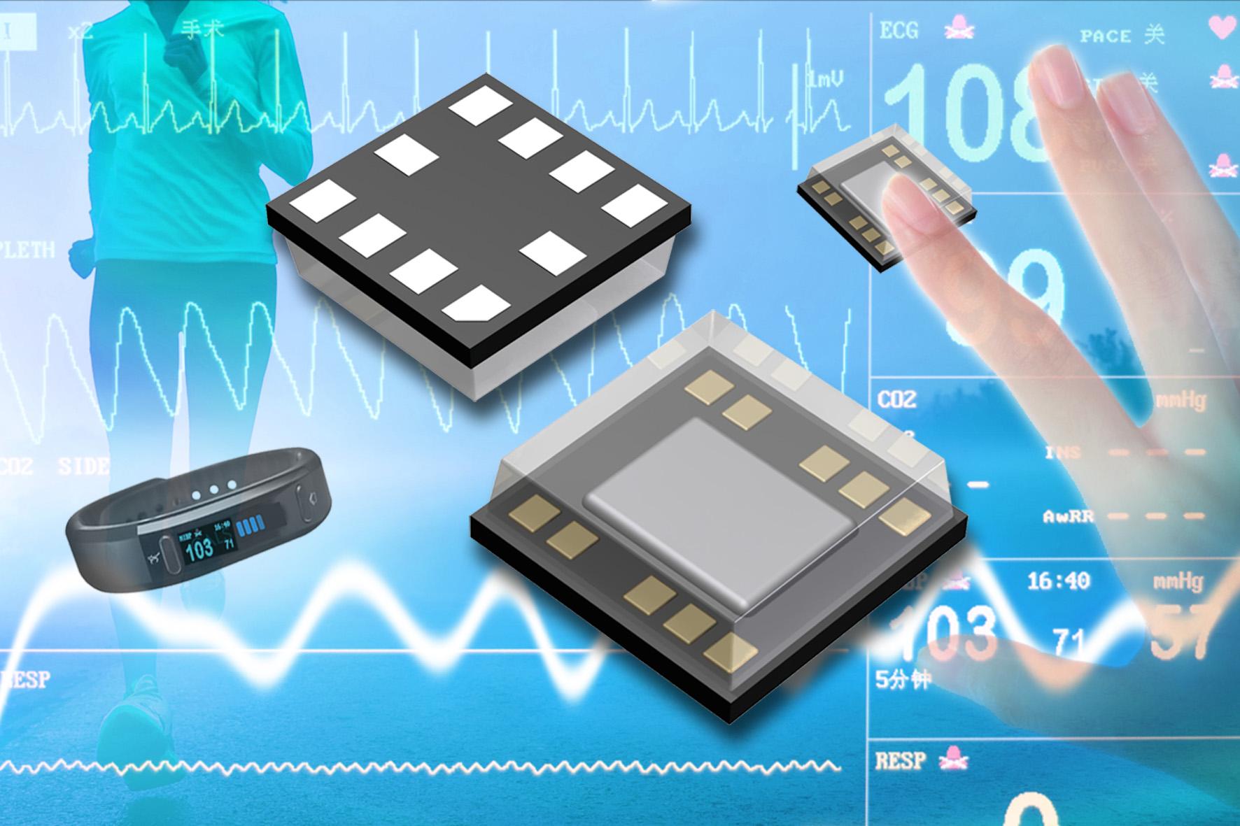 Optischer Hochleistungs-Sensor für Wearables