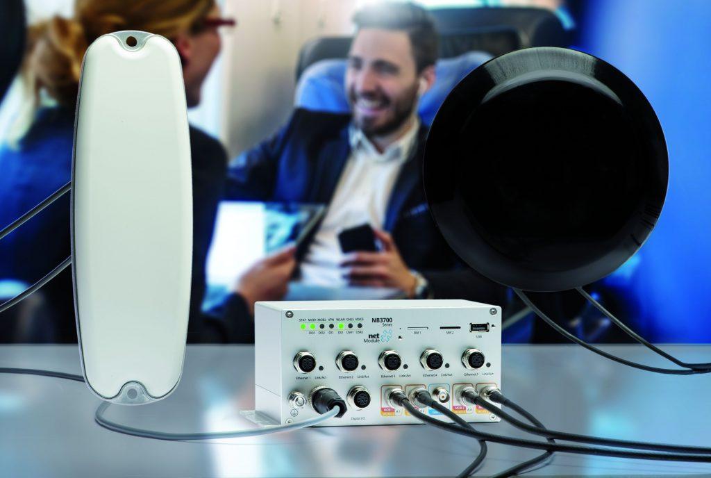 PWLAN-Kits für schnellen Internetzugang in Zügen/Bussen
