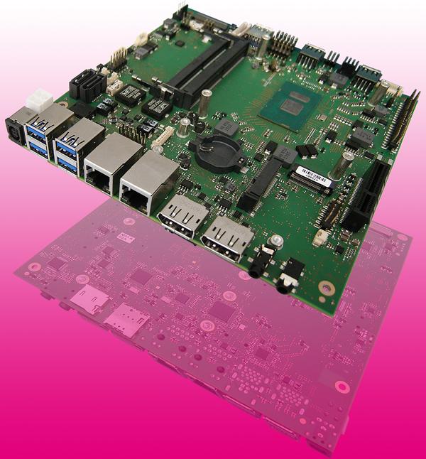 Single-Board-Computer für industrielle und Fahrzeuganwendungen