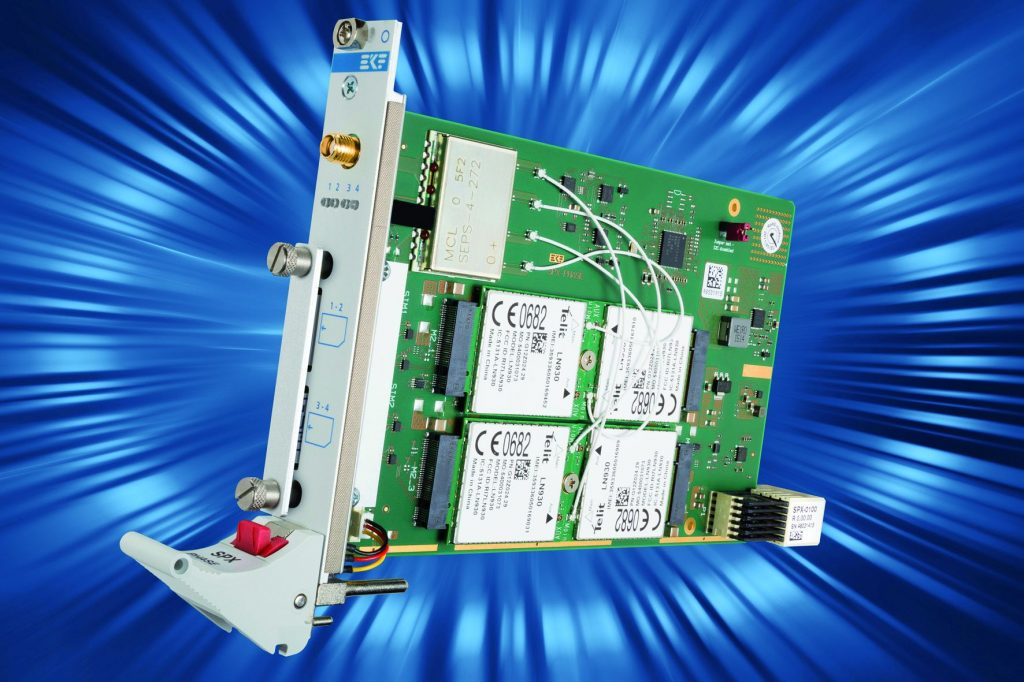 CompactPCI Serial ? Quad M.2 WWAN Module Carrier