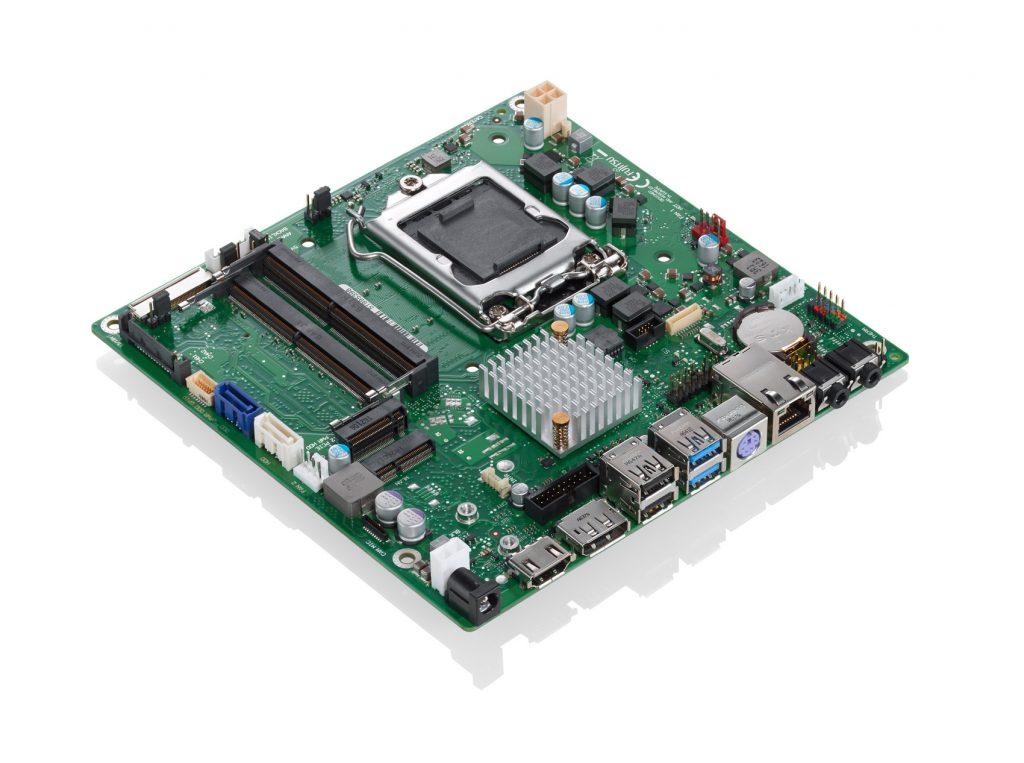 Neues Mainboard im Thin-Mini-ITX-Format für den Dauerbetrieb