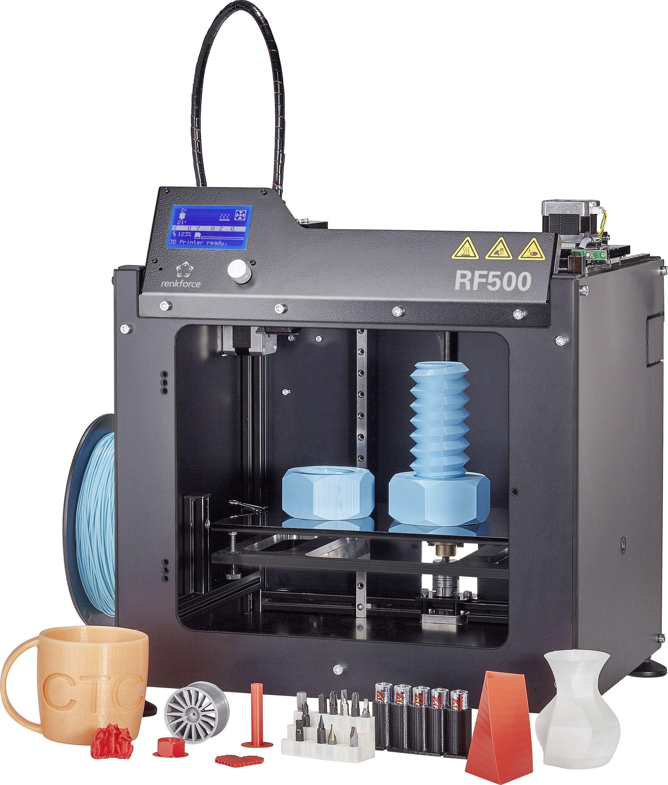 3D-Druck, IoT-Produkte und Tools für Embedded-Entwickler bei Conrad