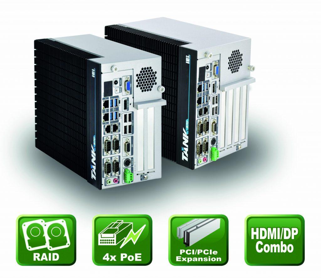 Embedded Box PC für die Bildverarbeitung