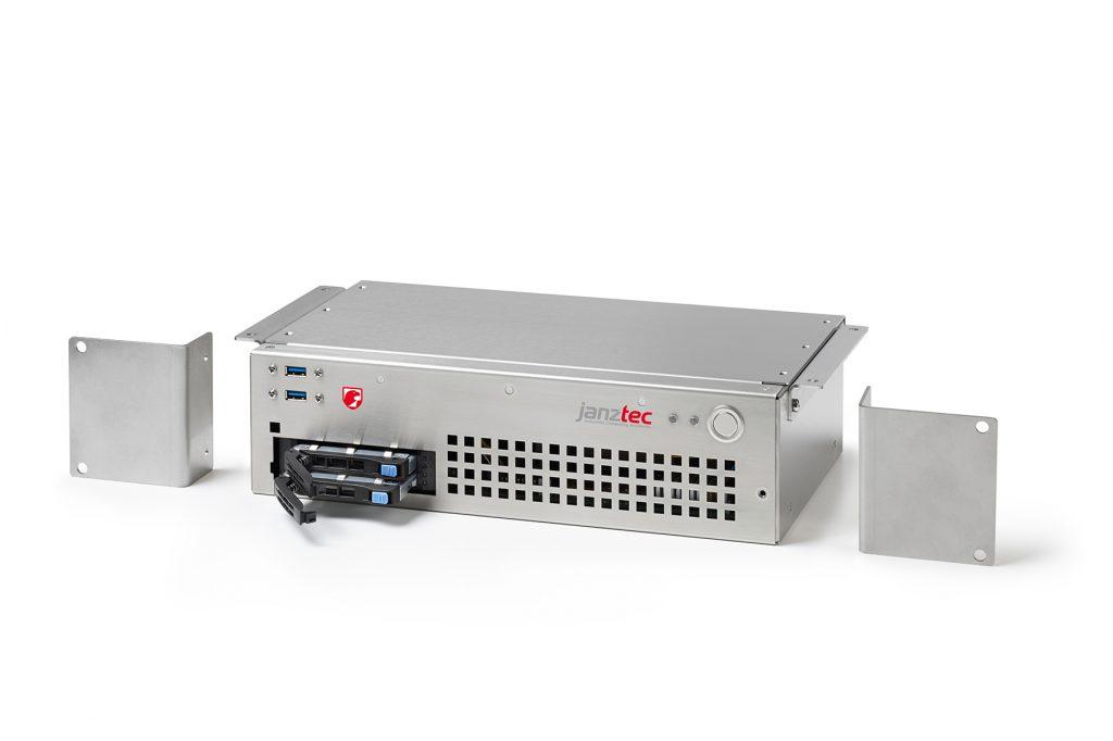 Industrie-PC Serie im Mini-ITX-Format mit intelligenter Kühlung