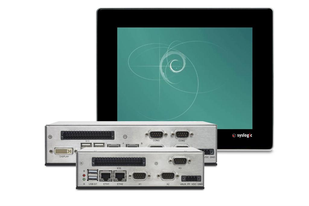 Syslogic bietet Linux Debian 9 (Stretch) für Embedded-Systeme