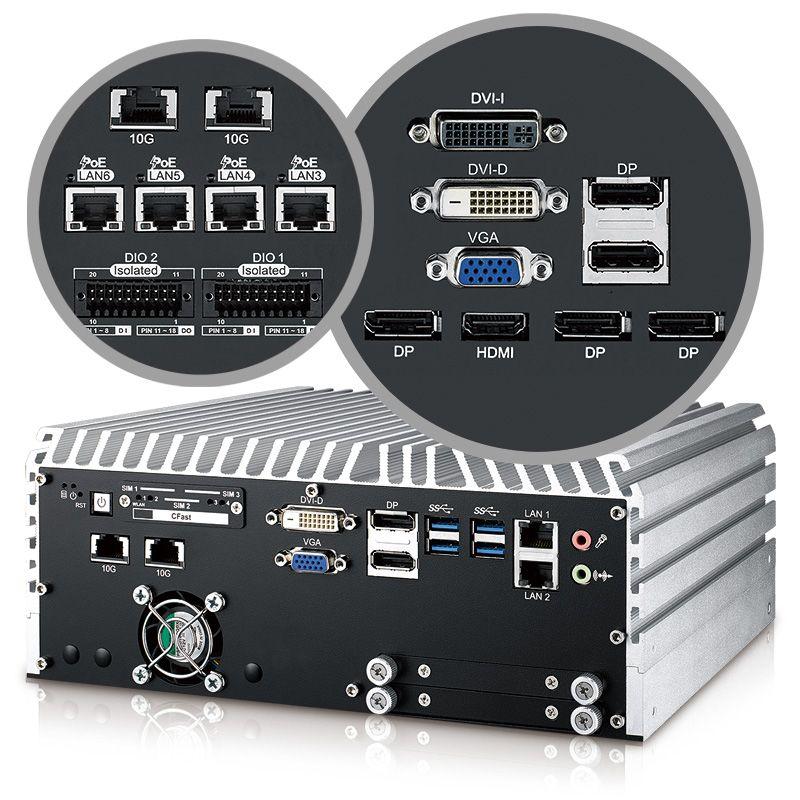Box-PC Serie mit 10GigE für industrielle Anwendungen