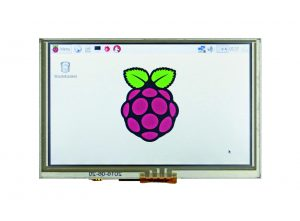 5″-Zoll-HDMI-Touchscreen-Display für Raspberry Pi-basierte Applikationen