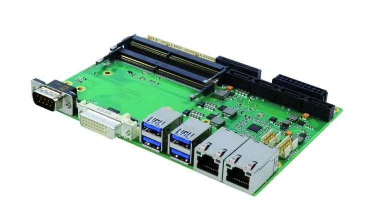 3,5-Zoll-SBC auf Basis der sechsten Generation von Intel-Core-Prozessoren