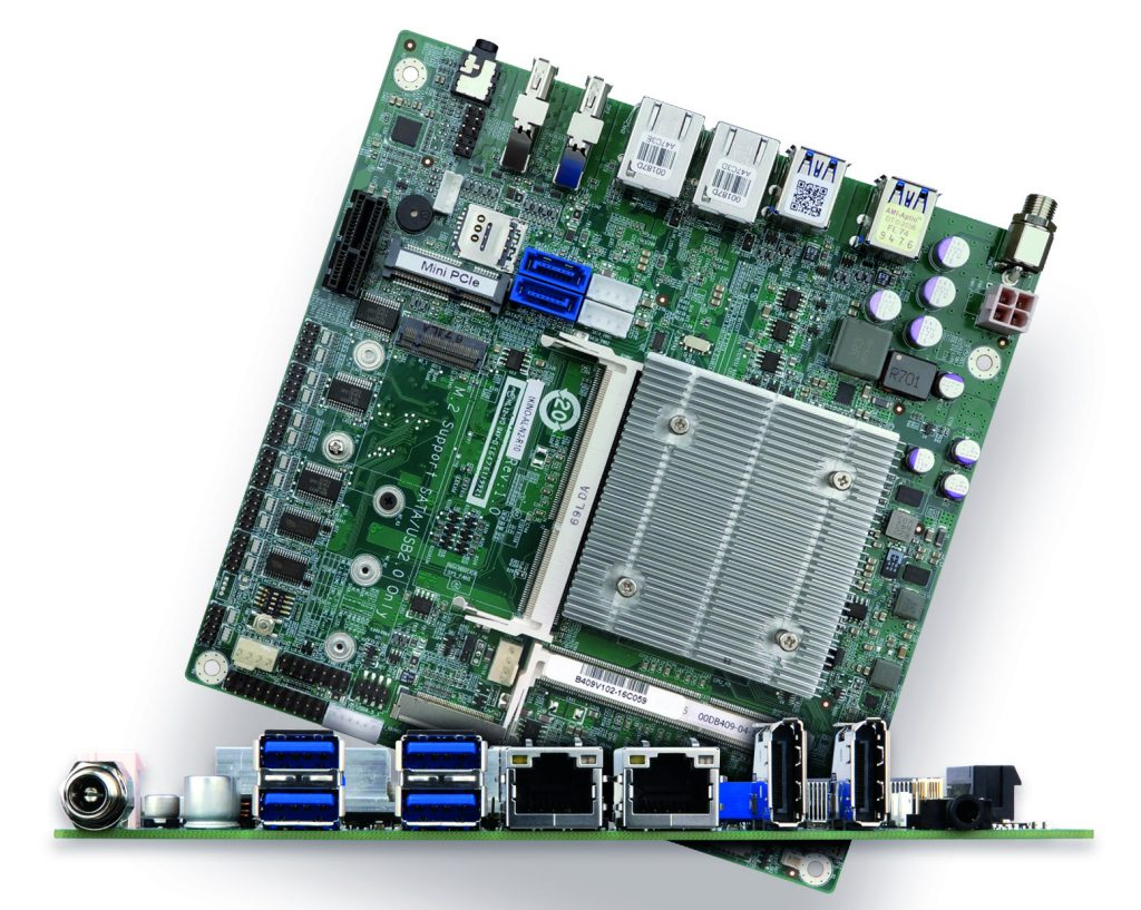 Motherboard für PoS-Anwendungen, Gaming und Industrie-Automation