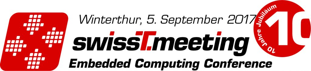 Embedded Computing Conference 2017 in Winterthur