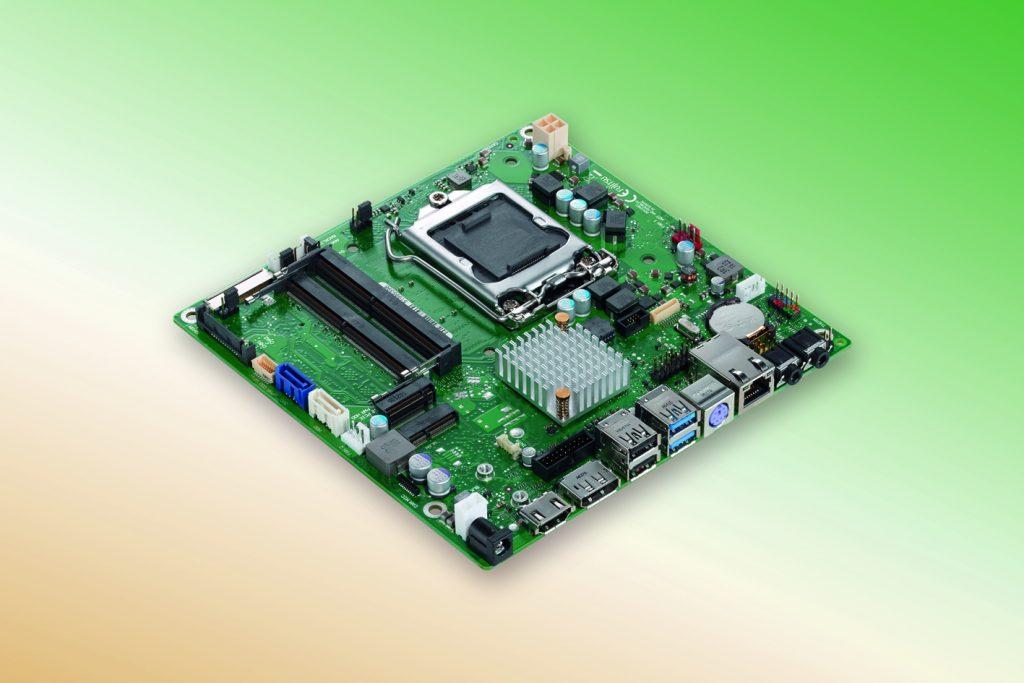 Hy-Line präsentiert Thin Mini-ITX-Board D3474-B von Fujitsu
