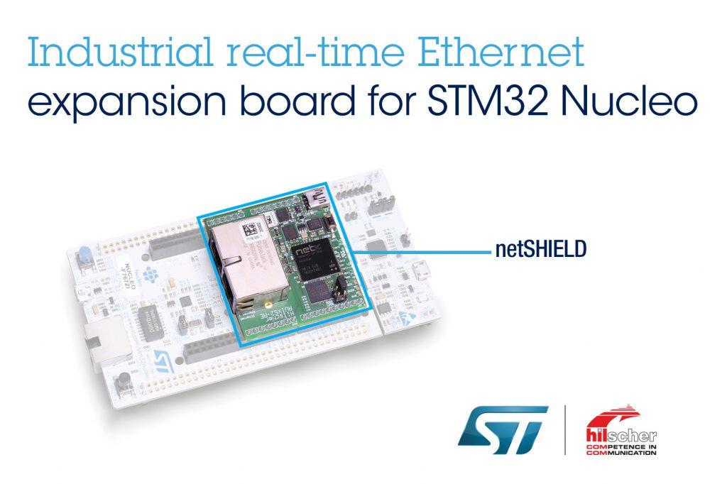 Industrial-Ethernet-Plattform von Hilscher und STMicroelectronics