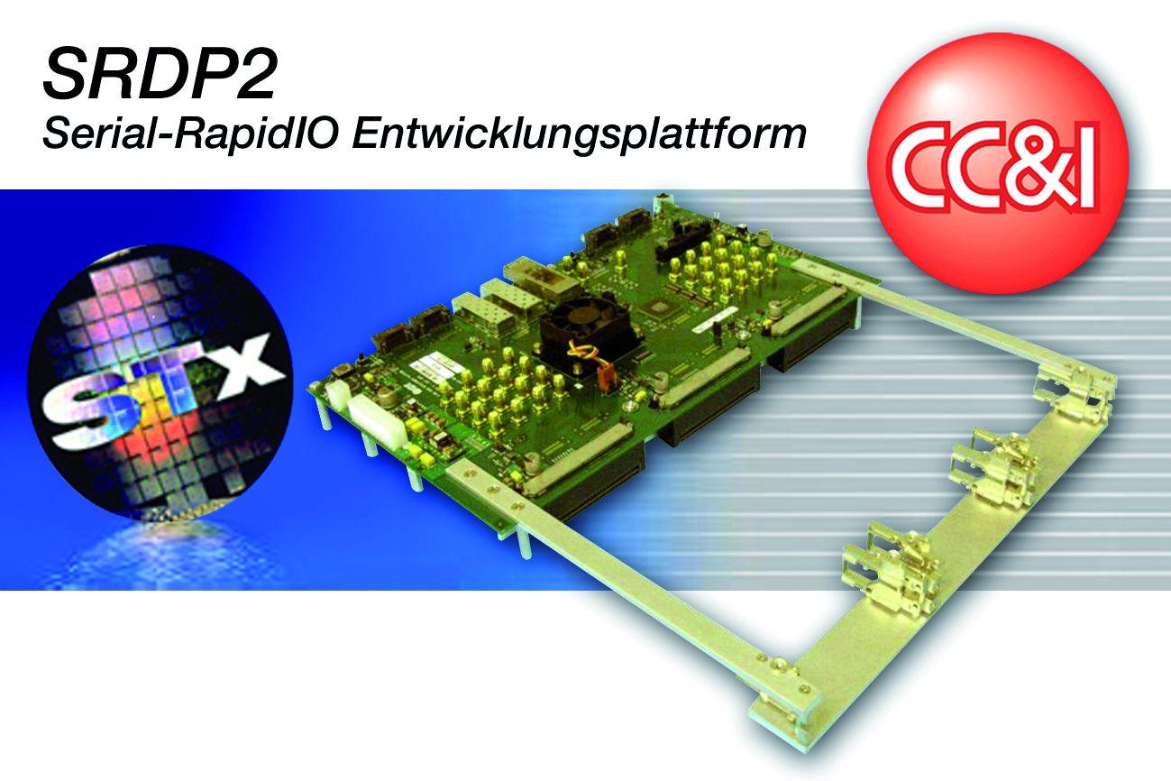 Serial-RapidIO-Entwicklungsplattform