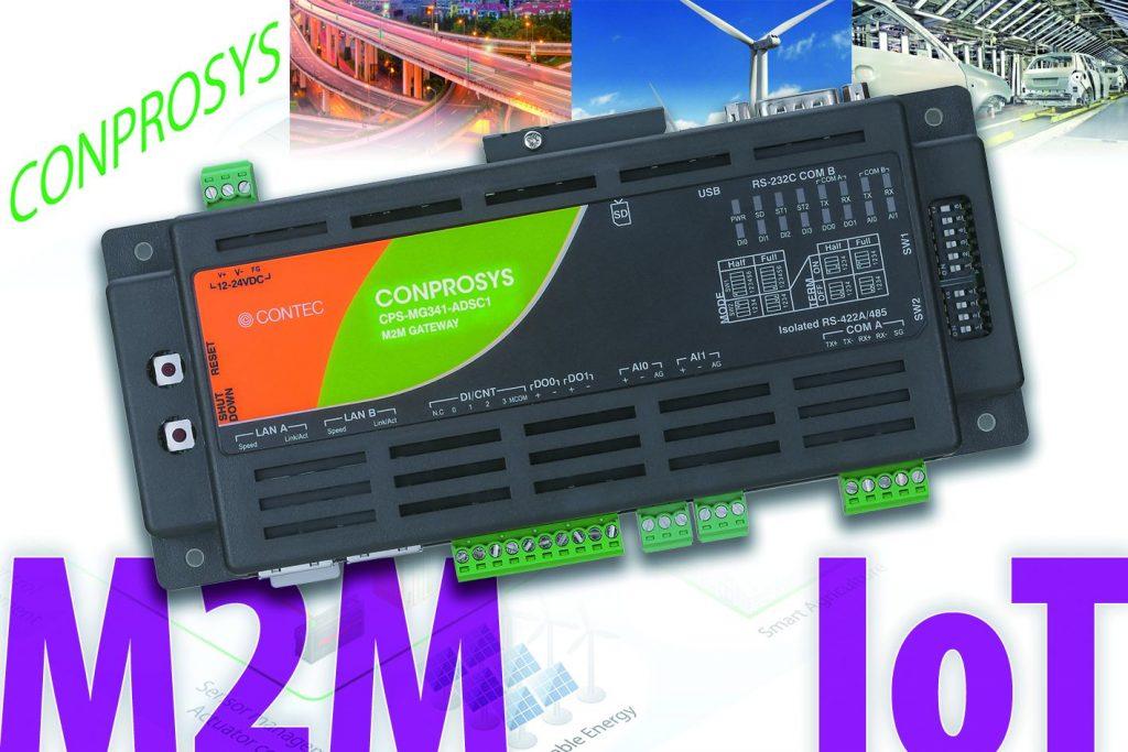 M2M-Gateway-PLC-Lösung zur Datenerfassung und Mess-und Steuerungstechnik