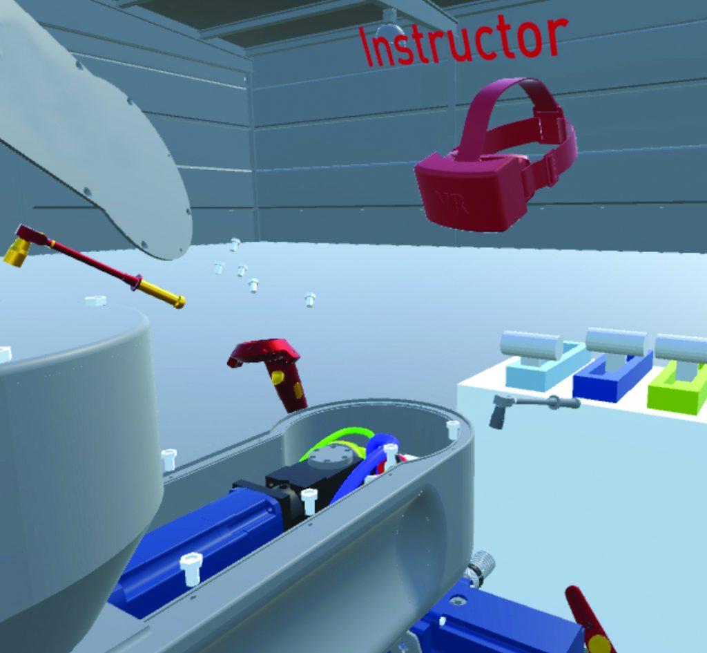 Fachkongress zur VR in industriellen Anwendungen im Juli