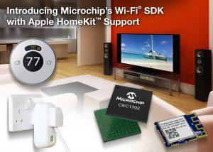 Microchips WiFi SDK mit Apple Homekit Support jetzt verfügbar