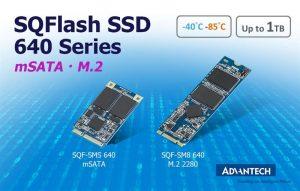 mSATA und M.2 SSDs mit bis zu 1TB im erweiterten Temperaturbereich