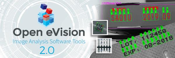 Open-eVision-Software für verbesserte OCR