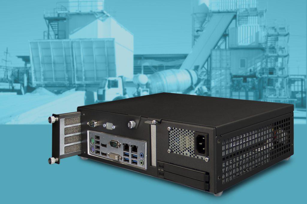 Staubgeschützter Booksize-PC mit Intel-Q170-Chipsatz