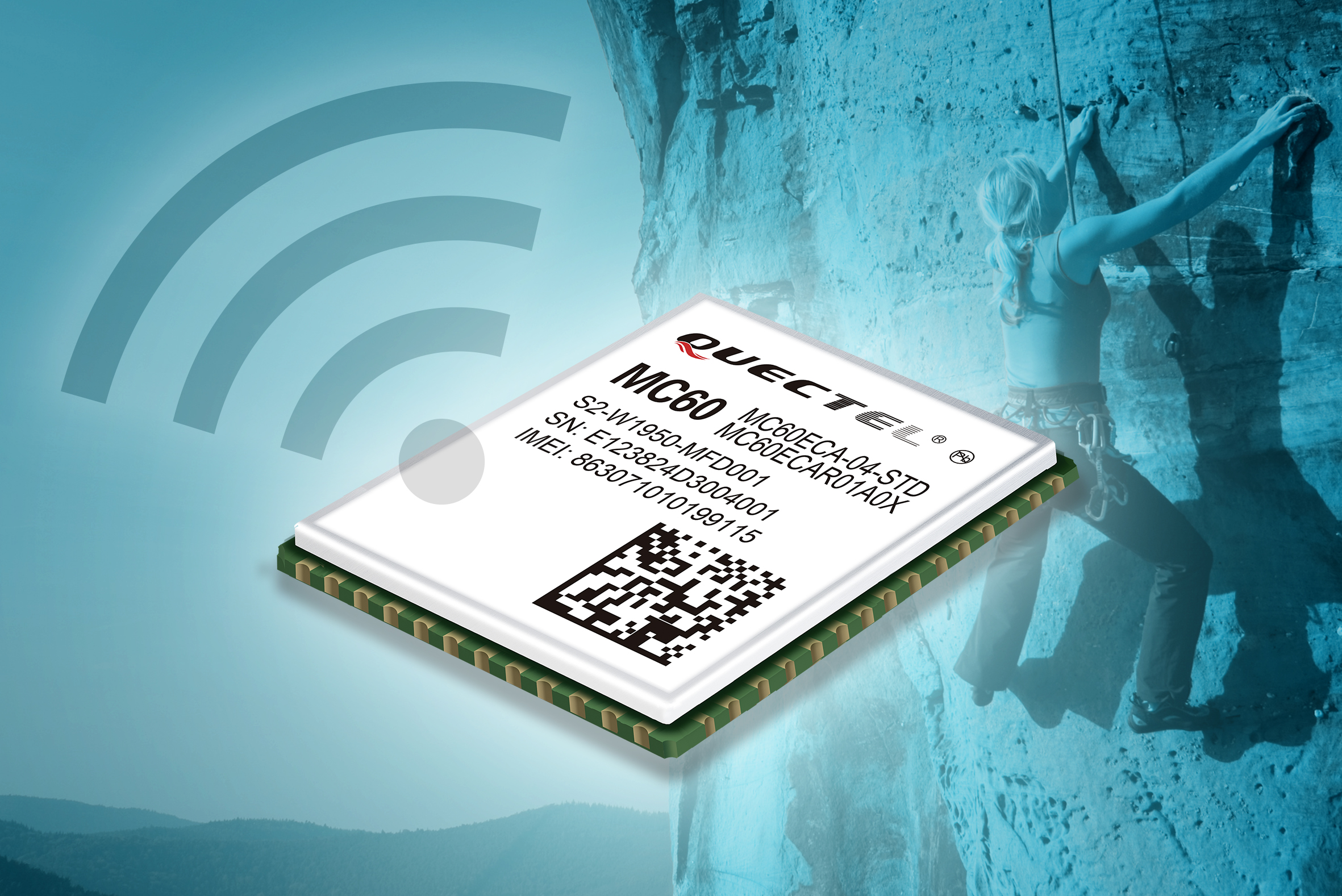 GPRS/GNSS-Kombimodul mit Bluetooth 4.0 dual mode