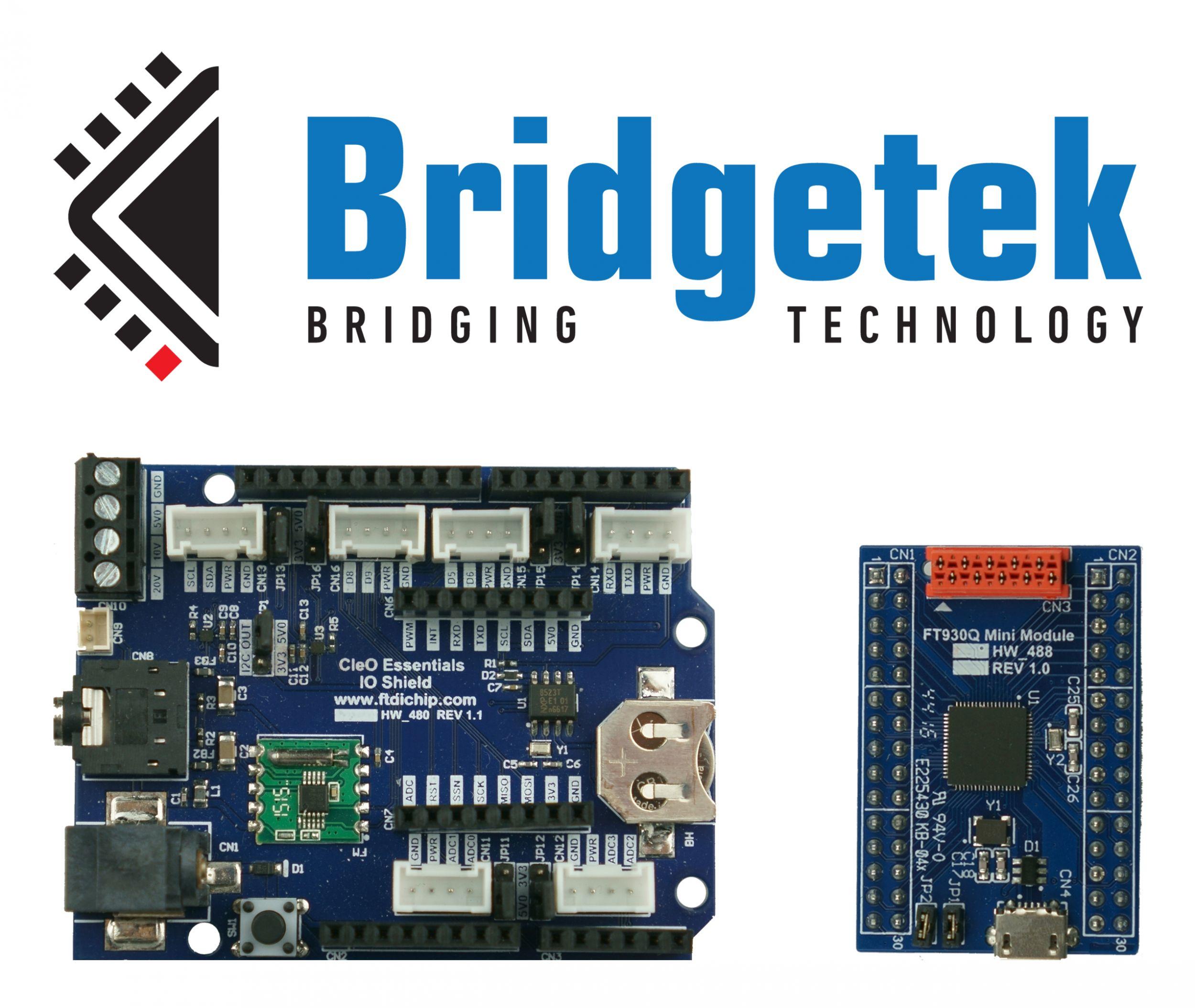 Bridgetek erweitert Hardware-Portfolio rund um Cleo