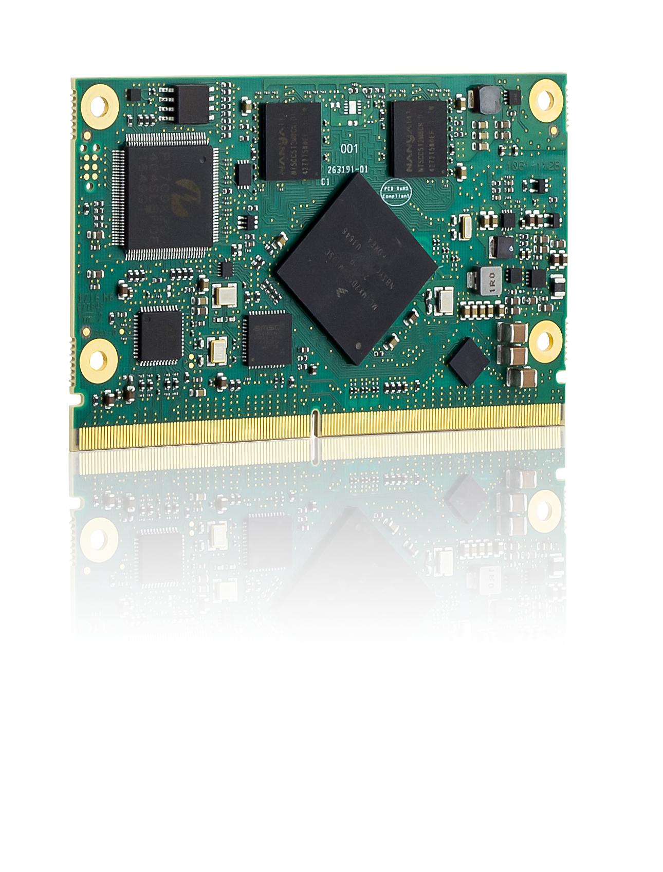 SMARC 2.0 Modul mit i.MX7 Prozessoren für intelligente Endgeräte