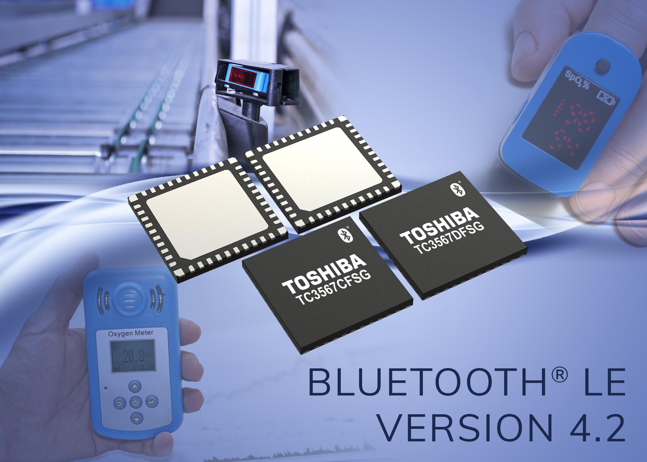 Neue ICs für Bluetooth-Smart-Geräte mit niedrigem Stromverbrauch